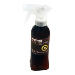 Method Products Wood For Good Spray - Almond - 12 Oz - Not only will this cleaner leave behind a fresh almond scent, but it also polishes and removes dirt and smudges without using wax or leaving buildup on your wood. Method Cleanings' naturally derived products give you a clean feeling that's safe for you and safe for the environment. Products are non-toxic and made from renewable and/or abundant natural resources. Great almond scent.