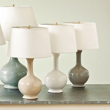 modern lamp shades by Ballard Designs