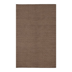 Fab Habitat - Fab Habitat - Indoor Cotton Rug - Karma - White & Dark Brown, 3' X 5' - Fab Habitat brings you a stylish collection of rugs made from recycled cotton. These handcrafted flat weave cotton rugs have subtle elegance with simple and classic designs. They are perfectly suited to bring comfort to a modern space. The rugs are made to withstand everyday use and are extremely easy to take care of. These rugs are made using sustainable practices and dyes, which are safe for the environment.