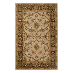 Surya - Surya Kensington Traditional Hand Tufted Wool Rug X-975-1201NEK - Intricate traditional designs are the cornerstone of the Kensington Collection. This collection combines the pattern and feel of traditional rugs, but provides an updated and modern color palette. The color combinations of these rugs were chosen to reflect the trends of the modern furniture market, to create an easy and comfort when adding the rugs to a home. These rugs are hand tufted from 100% wool.