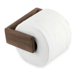 Waterbrands - Waterbrands SeaTeak Toilet Paper Holder - Solid teak toilet paper holder will look great in your bathroom whether on a boat or in your home. Durable toilet paper holder with a spring-loaded bar is a beautiful finishing touch to any decor.