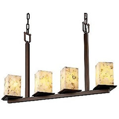 Alabaster Rocks! Linear Suspension by Justice Design at Lumens.com