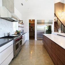 Contemporary Kitchen by Ezra Lee Design+Build