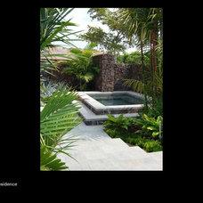Asian Exterior by Suzman Design Associates