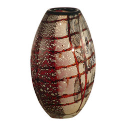 Dale Tiffany - Dale Tiffany AV10767 Windslow Art Glass Vase - Dale Tiffany AV10767 Windslow Art Glass Vase