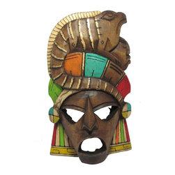 """Mayan Mask - Renaissance """"Itzamna""""-1 - -Handmade by Artisans in Mexico"""