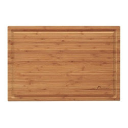 BergHOFF Professional Bamboo Chop Block - Make carving meats more efficient and hassle-free with this high quality chopping board. The BergHOFF Professional Bamboo Chop Block is designed to make working in the kitchen easier. It's made from bamboo, treated with food grade mineral oil, which makes it perfect for light chopping and cutting. This chopping board is also an eco-friendly alternative to traditional wooden cutting boards. For this piece of kitchenware, Washing by hand is recommended.