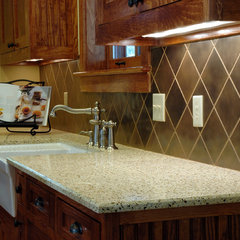 contemporary kitchen countertops by Design Studio -Teri Koss