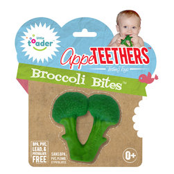 AppeTEETHERS Teething Toys - Broccoli Bites - Little Toader, LLC