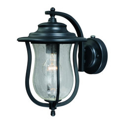 Vaxcel Lighting - Vaxcel Lighting T0007 Corsica 1 Light Outdoor Wall Sconce - Features: