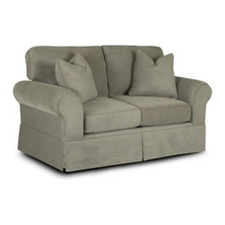 Klaussner Furniture - Woodwin Loveseat - BO48930-LS - Woodwin Collection Loveseat