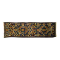 Manhattan Rugs - New Runner Geometric Egyptian Design Hand Knotted Wool Veg Dyed Baluch Rug Free - They have a very distinctive type of rugs recognizable at a glance. Anyone remotely familiar with oriental rugs could hardly mistake a typical example