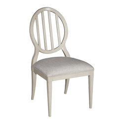 EuroLux Home - New Side Chair Brown/Beige/Tan White/Cream - Product Details