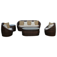 Tropical Outdoor Sofas by LexMod