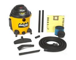 Shop Vac - Shop-Vacuum 9625110 5.0-Peak Horsepower Right Stuff Wet/Dry Vacuum, 12-Gallon - Right Stuff 12 gal 5.0 Peak HP wet/dry vac. Tough poly tank Lock-On hose tool basket and tank drain.