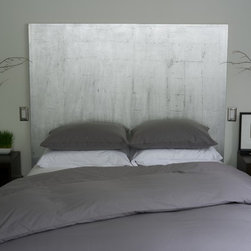 Queen Duvet Cover and Sham Set - Gray - Innovative redesign of the classic duvet cover. This patented design features two side openings for