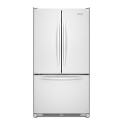 """KitchenAid - Architect Series II KBFS20EVWH 36"""" 19.8 cu. ft. Capacity Counter-Depth French Do - The KitchenAid KBFS20EV 198 Cu Ft capacity French door refrigerator with interior water dispenser provides distinctive styling and allows more workable space in the kitchen The internal water dispenser doesn39t clutter the sleek look of the doors And..."""