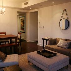 Contemporary Living Room by JMorris Design