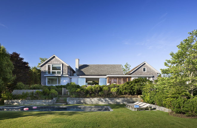 Beach Style Exterior by Robert Young Architects