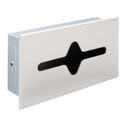Liberty Hardware - Liberty Hardware 935 F.B. GUEST ROOM ACCESSORIES 6.7 Inch - Ideal for commercial buildings or office bathrooms. This shallow recessed tissue cabinet is made of durable steel material and stainless steel finish to coordinate with other bathroom fixtures. The wall mounted design is easy to install and maintain. Width - 6.7 Inch, Height - 12.2 Inch, Projection - 3.1 Inch, Finish - Bright Stainless Steel, Weight - 1.88 Lbs.