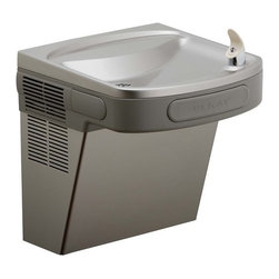 """Elkay - Elkay EZSDL Light Gray Granite  ADA Wall Mount Single Level Barrier - Elkay ADA Wall Mount Single Level Barrier Free Non Refrigerated Drinking Fountain Elkay is sure to have a water cooler or drinking fountain that will meet or exceed your specifications. Product Features:  Non-refrigerated Self-contained wall hung drinking Fountain Hood projectors have flow regulators that provides constant stream from 20 to 105 psi water pressure Non-pressurized Stainless steel cooling tank is standard Non-pressurized water tank is located after bubbler valve (so that tank is subject to line pressure only when valve button is pressed) ADA compliant No lead design  Product Specifications:  Base Flow Rate: 0 Rated Watts: 0 Full Load Amps: 0 Shipping Weight: 35 lbs Fountain Type: Standard Installation Type: Wall Hands Free Operation: No Voltage: 0 Height: 18-13/16"""" Width: 18-3/8"""" Depth: 19"""" Vandal Resistant Bubbler: No Freeze Protection: No Glass Filler: No"""