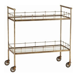 Arteriors - Arteriors Home - Lisbon Serving Cart - 6525 - Features