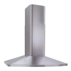 "Broan - 30"" Stainless Steel Range Hood - Range Master RM52000 series European design chimney range hood for wall mount installation"