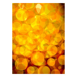 Custom Photo Factory - Retro Abstract Bubbles Canvas Wall Art - Retro Abstract Bubbles  Size: 20 Inches x 30 Inches . Ready to Hang on 1.5 Inch Thick Wooden Frame. 30 Day Money Back Guarantee. Made in America-Los Angeles, CA. High Quality, Archival Museum Grade Canvas. Will last 150 Plus Years Without Fading. High quality canvas art print using archival inks and museum grade canvas. Archival quality canvas print will last over 150 years without fading. Canvas reproduction comes in different sizes. Gallery-wrapped style: the entire print is wrapped around 1.5 inch thick wooden frame. We use the highest quality pine wood available. By purchasing this canvas art photo, you agree it's for personal use only and it's not for republication, re-transmission, reproduction or other use.
