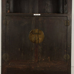 Ming Antique Chinese Display Cabinet - Ming Antique Chinese Display Cabinet