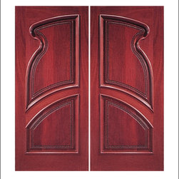 Carved and Mansion Entry Doors Model # 13 - Our Carved and Mansion doors are hand carved by master craftsman.  They will certainly add to the wow factor of any entrance exterior or interior.  The doors are Mahogany and can be stained and finished in a variety of colors to complement your homes beauty.  You may also like our International collection which is inspired by world design.