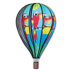 Premeir Designs - Hot Air Balloon It's Five O'clock Somewhere 22 inch - Your front yard, lawn or deck can be a true Animal House of fun with these wacky revelers. Use them as a delightful lawn marker for parties and/or any festive event. Cannot be sold into Canada