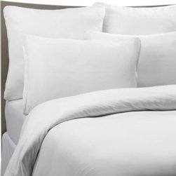 Sheex - SHEEX Performance Bedding Duvet Cover Set in White - This unique and luxurious duvet cover set offers durability combined with superior comfort.
