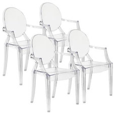Midcentury Dining Chairs by Lamps Plus