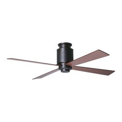 Period Arts Fan Company - Lapa Hugger Ceiling Fan with Optional Light by Period Arts Fan Company - With clean Craftsman style for low-ceilinged spaces, the Period Arts Lapa Hugger Ceiling Fan with Optional Light also provides refreshing air circulation with quiet and reliable operation. The Lapa Hugger Fan has a Rubbed Bronze finish and offers a variety of blade color, size, lamping and control options. The Period Arts Fan Company, headquartered in Ashland, OR, designs and manufactures ceiling fans that expertly combine modern technology with original interpretations of late-nineteenth century and early-twentieth century architectural, interior and product design movements.