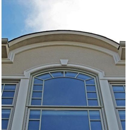 Exterior moldings for stucco for Exterior keystone molding