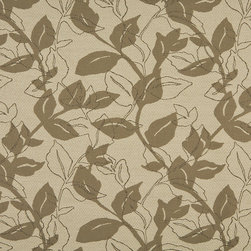 Light Brown And Beige Leaves Indoor Outdoor Upholstery Fabric By The Yard - P801012 is great for residential and commercial applications, and can be used outdoors and indoors. This fabric will exceed at least 35,000 double rubs (15,000 is considered heavy duty), and is easy to clean and maintain. In addition, this product is stain, water, mildew, bacteria and fade resistant. For superior quality and performance, this fabric is woven and solution dyed.