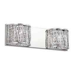 Trans Globe Lighting - Trans Globe Lighting MDN-1152 Wall Sconce In Polished Chrome - Part Number: MDN-1152