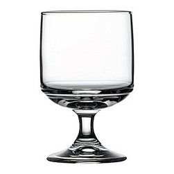 Hospitality Glass - 4H x 2.5T x 2.25B Tower 6 oz Stacking Beer Glasses 12 Ct - Tower 6 oz Stacking Goblet