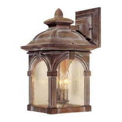 Vaxcel Lighting - Vaxcel Lighting OW38793 Essex 3 Light Outdoor Wall Sconce - Features: