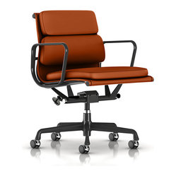 Eames Soft Pad Management Chair, MCL Leather