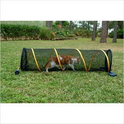 ABO - ABO 10580 BLACK FUN RUN SAFETY ENCLOSURE FOR CATS PLAY INDOOR - ABO 10580 BLACK FUN RUN SAFETY ENCLOSURE FOR CATS PLAY INDOOR