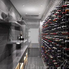 Contemporary Rendering by Papro Consulting - Wine Cellars