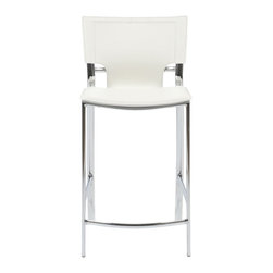 Euro Style - Euro Style Vinnie-C Counter Chair (Pack of 2) X-THW31271 - Euro Style Vinnie-C Counter Chair (Pack of 2) X-THW31271
