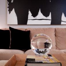 Eclectic Living Room by Frances Herrera Interior Design