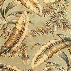 """Kas - Tropical Ferns Pale Green Sparta Floral 2'6"""" x 10' Runner Kas Rug  by RugLots - Our Sparta Collection is an exclusively designed line of hand-tufted carpets with an antique finish. These rugs are made in China using high density Chinese wool. Classic and new designs in floral and other styles have been constructed using current color trends. These rugs are finished with an antique vegetable-dyed look and abrash effect. The combination of fresh color and design and antique finish gives this collection unique trend-setting characteristics."""