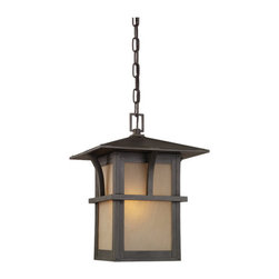 Sea Gull Lighting - Sea Gull Lighting 60880 Craftsman / Mission Single Light Outdoor Pendant from th - Single Light Outdoor Pendant from the Medford Lakes CollectionDetails:
