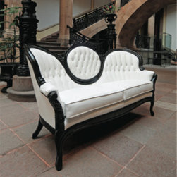 baroque indoor or outdoor sofa - Baroque sofa, also available as an outdoor piece (for an added charge)