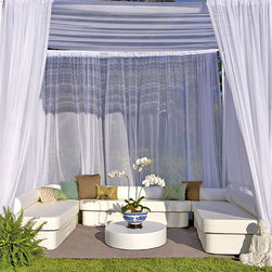 La-Fete Zen Club Now Collection - A 14-pc grouping for an instant cabana to entertain friends