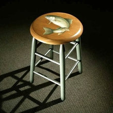 Farmhouse Bar Stools And Counter Stools by ECustomFinishes