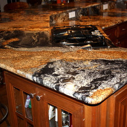 Magma Black Granite -